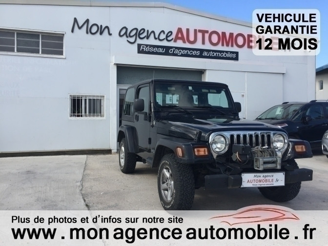 voiture jeep wrangler sahara 4 0l occasion essence 2005 32000 km 20990 saint est ve. Black Bedroom Furniture Sets. Home Design Ideas