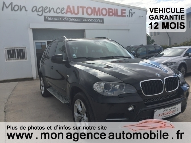 voiture bmw x5 luxe 3 0l occasion diesel 2010 126000. Black Bedroom Furniture Sets. Home Design Ideas