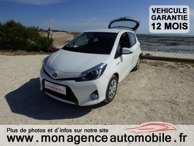 voiture toyota yaris 1 5 hds active occasion hybride 2012 23000 km 10290 aytr. Black Bedroom Furniture Sets. Home Design Ideas