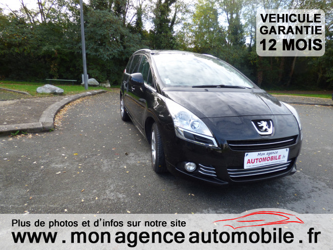 voiture peugeot 5008 1 6 hdi allure occasion diesel 2011 115000 km 11190 aytr. Black Bedroom Furniture Sets. Home Design Ideas